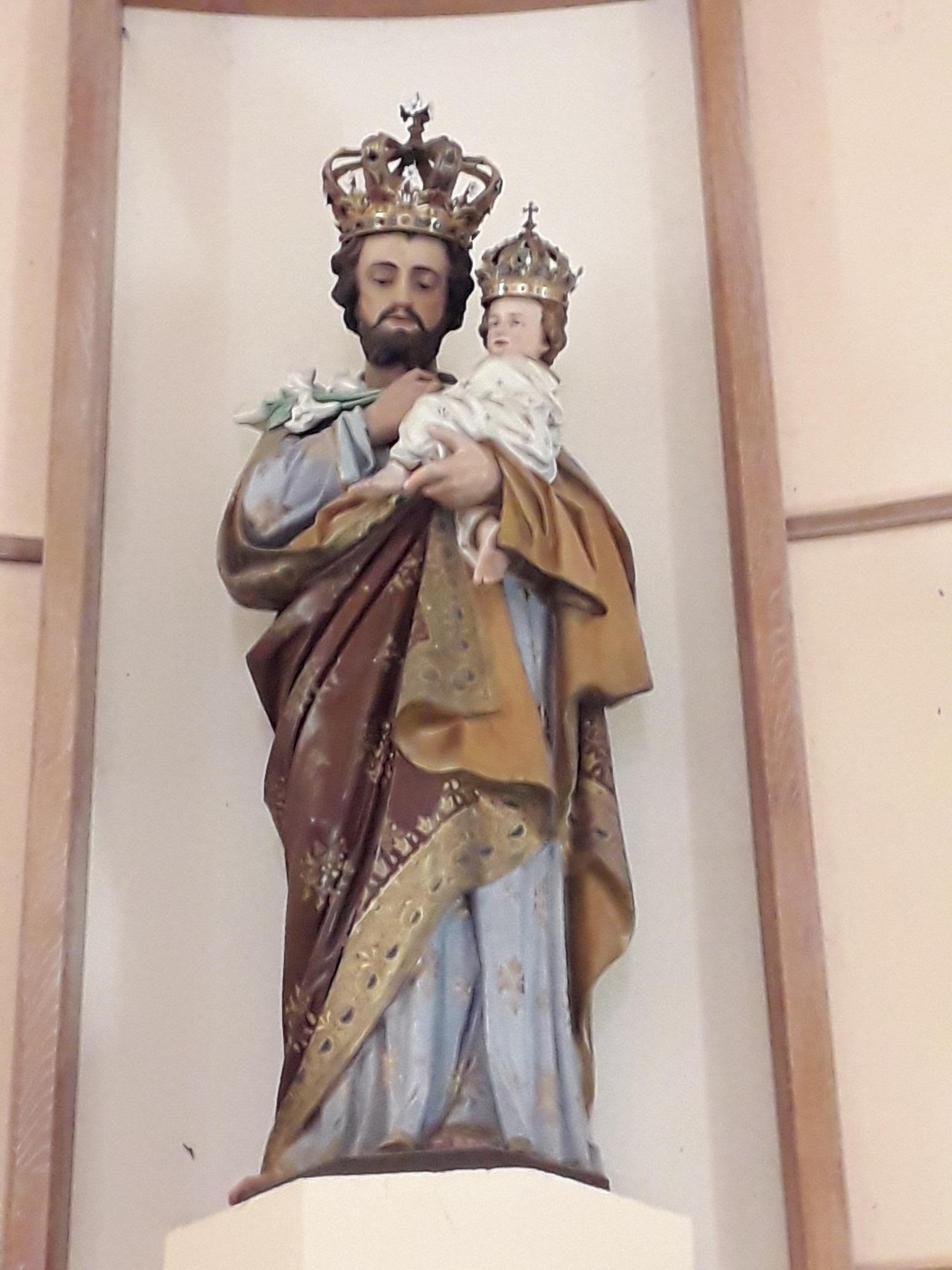 Saint Joseph, maître de ce lieu