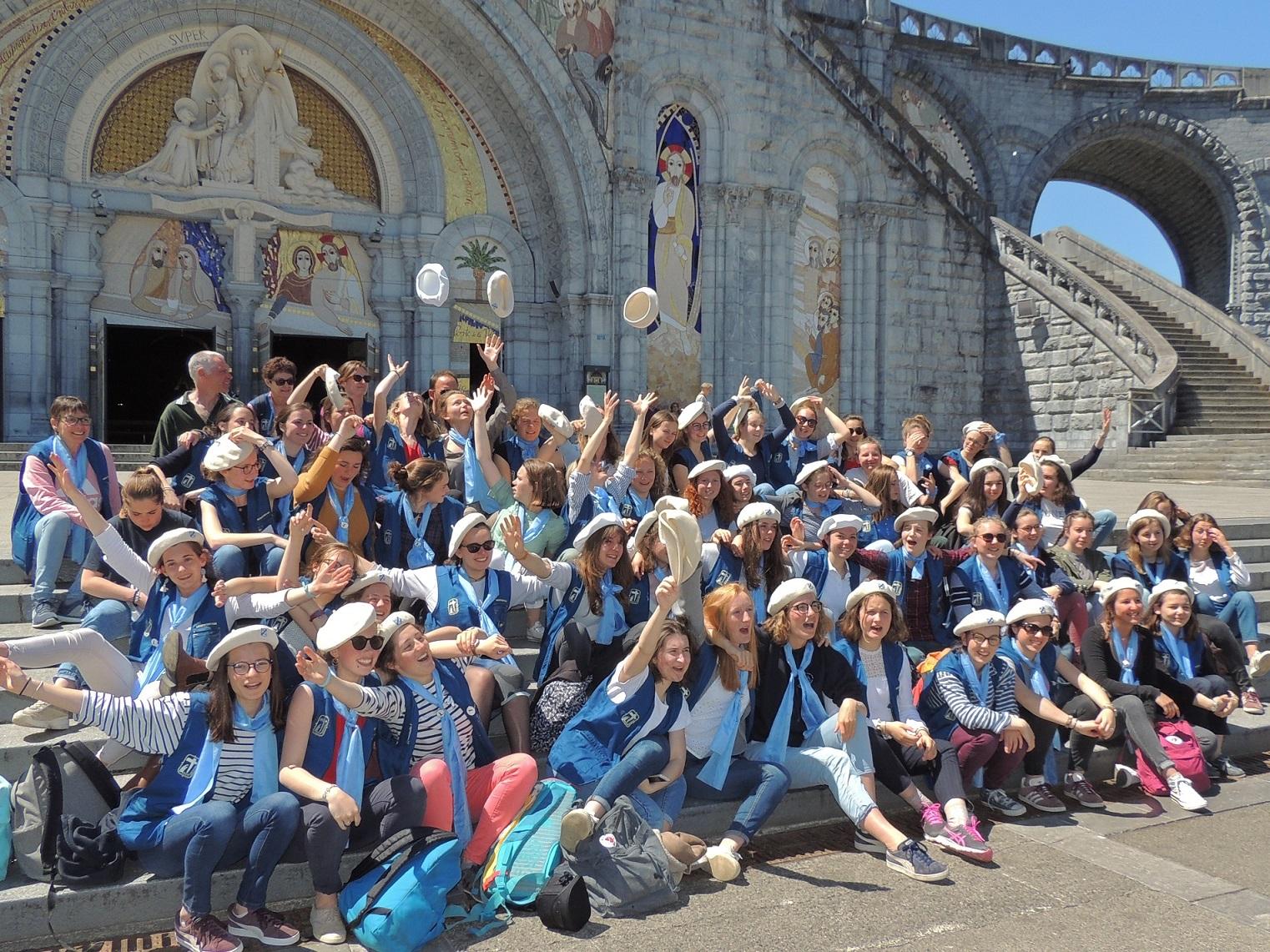 Lourdes avril 19