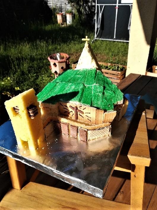 Gâteau du Sanctuaire 16 juin 19