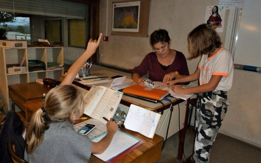 Études dirigées au Collège