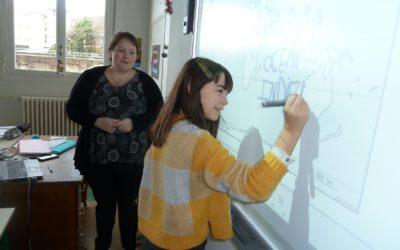 Tableau numérique en classe