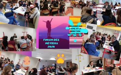 Forum des Métiers 2020